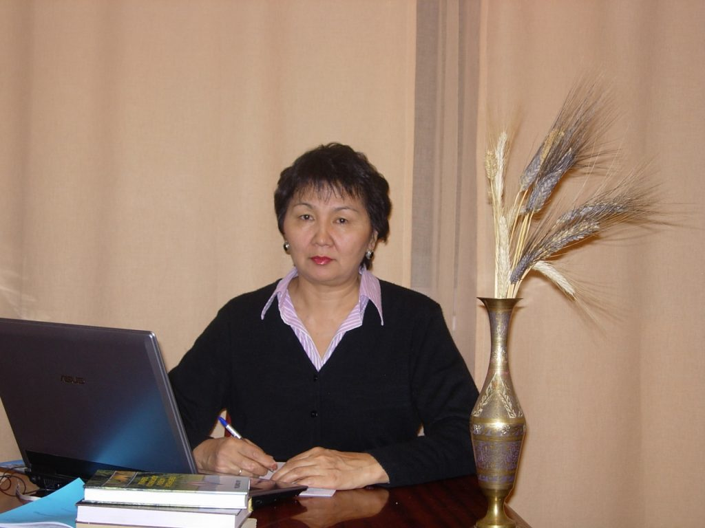 Head of Laboratory: Alma Myrzabekovna Kokhmetova, D.Sci, Professor, Corresponding Member of the National Academy of Sciences of Kazakhstan.