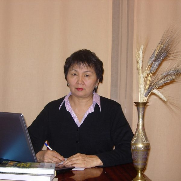 Alma Myrzabekovna Kokhmetova